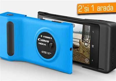 Canon ve Nokia , güçlerini birleştiriyorlar