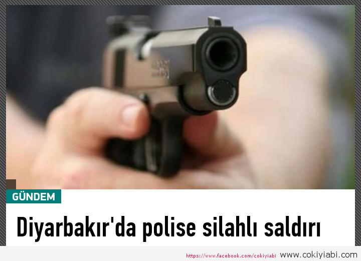 Diyarbakır da dün gece bir Polis öldürüldü