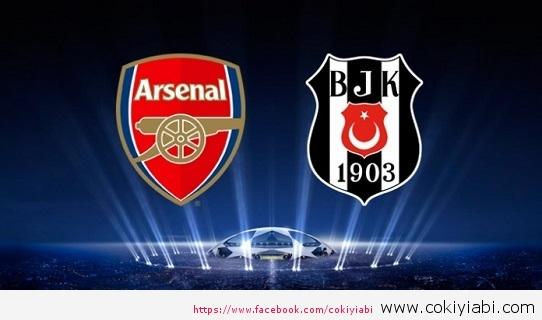 Arsenal Beşiktaş 1-0 Maçının Golünü Buradan İzleyebilirsiniz
