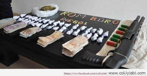 Bursada uyuşturucu baskını yapıldı