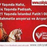 Fatih Sultan Mehmetin Sözleri ve Hayatı Kısaca
