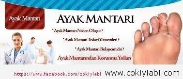 AYAK KAŞINTISI VE MANTAR TEDAVİSİ...