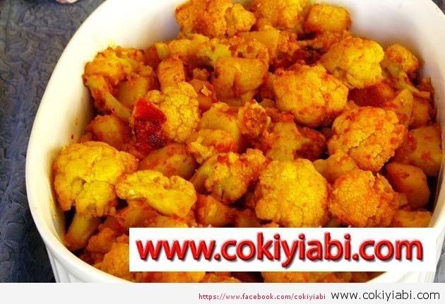 Karnabahar Yemeği Yapılışı ve malzemeleri
