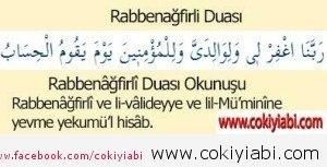 rabbenafirli duası