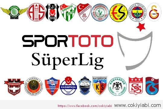 Spor Toto süper Ligin bu haftaki Maçları