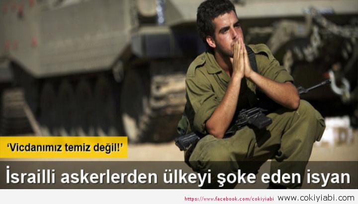 İsrail Askerler Vicdanımız rahat Degil Başbakana Yazdıgı Mektup