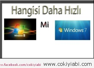 windows8 ve  windows7