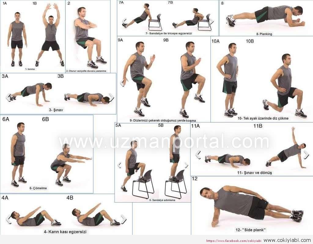 Egzersiz hareketleri resimli anlatım ile Etiketlenen Konular