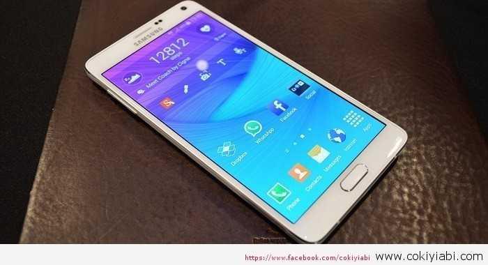 Samsung Galaxy Note 4 Özellikleri Resmi  ve Fiyatı Ne Kadar
