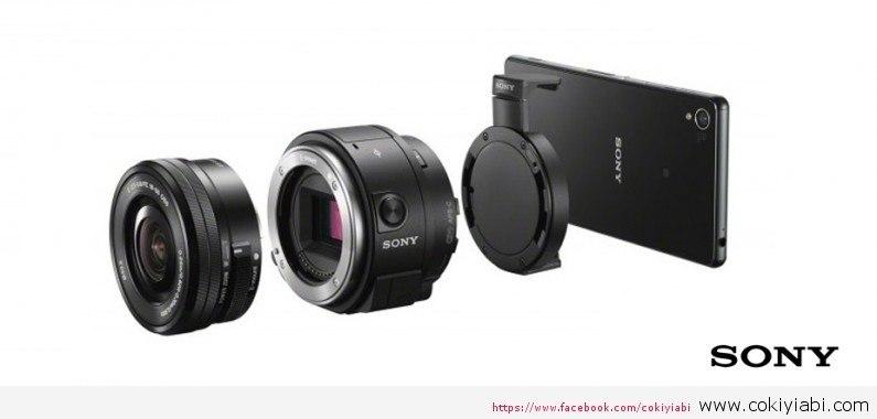 Akıllı Telefon Lensi Sony QX1 Ortaya Çıktı