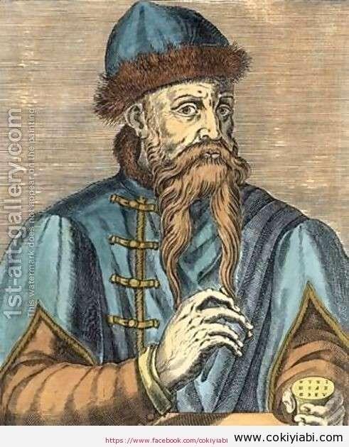 Johannes Gutenberg kimdir (Bilim Adamları)