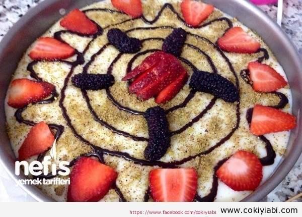 Antep Fıstıklı Meyveli Pasta Yapımı Ve Malzemeleri