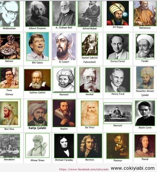 Bilim Adamları Resimleri