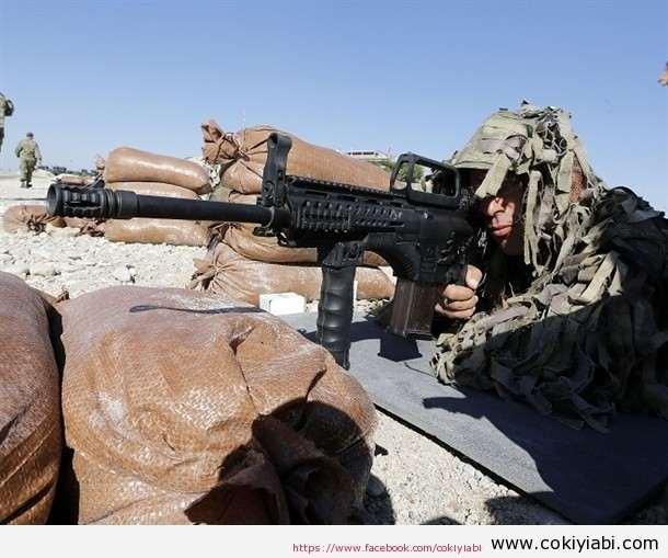 Yerli Piyade Tüfeğimiz MPT76 Mehmetçiğin Eline Geçti