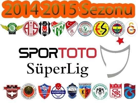 2014  / 2015 Süper Toto Süper lig Fikstürü Burada
