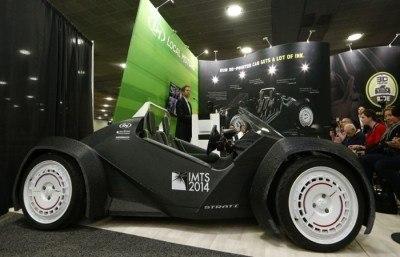 Satışa Çıkarıldı 3D yazıcıyla üretilen otomobil Strati