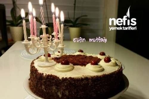 Doğum Günü Pastam (Vişneli) Tarifi Malzemeleri ve Yapımı