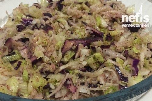 Kovanımın Kış Salatası Tarifi Malzemeleri ve Yapılışı