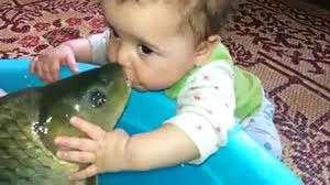 Bebeğin Balık Sevgisi Yok Böyle Birşey