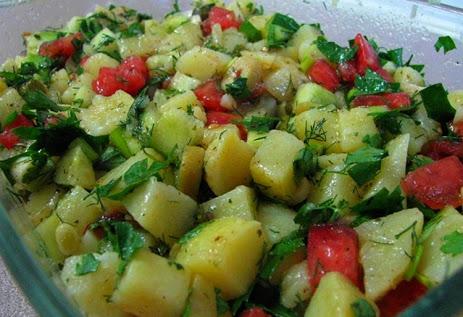 Patates Salatası Tarifi ve Yapılışı