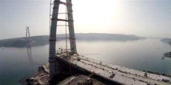 Yavuz Sultan Selim Köprüsünün Halatları Geldi Ve Son hali