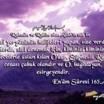 EN'AM Suresi Arapça ve Türkçe Meali