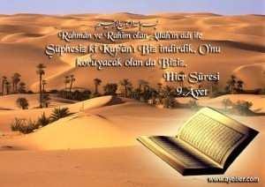Hicr suresi ve ayetler