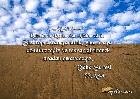 TÂHÂ Suresi Arapça ve Türkçe Anlamı