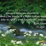 RÛM Suresi Arapça ve Türkçe Meali