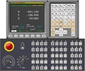 Cnc torna kontrol panel ünitesi