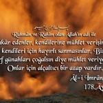 Ali İmran Suresi Arapça Ve Türkçe Meali