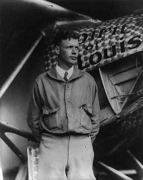 Atlas Okyanusunu İlk Uçarak Geçen Kişi Charles Lindbergh