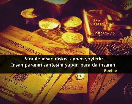 Para ve insan mesajı