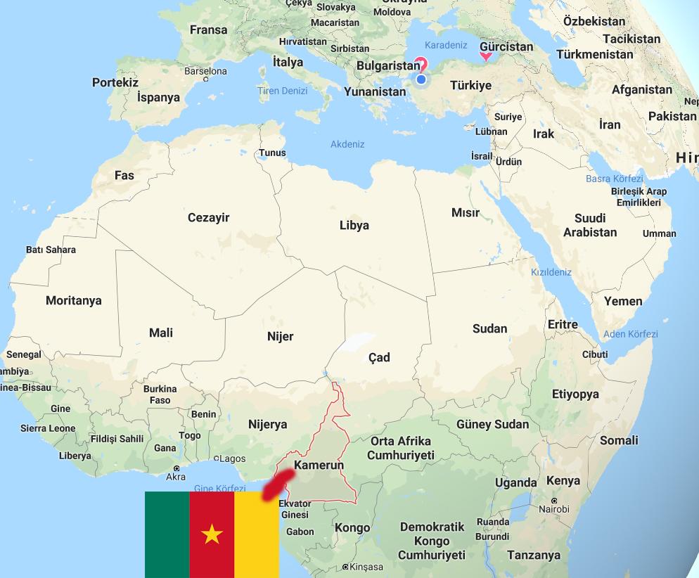 kamerun ülkesi bayrağı nufüsü para biririmi