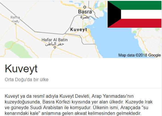 kuveyt ülkesi hakkında tüm bilgiler