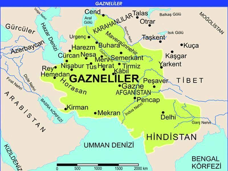 Gazneniler devleti