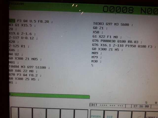 Cnc torna program yazma