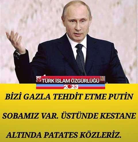 Turkiye Rusya Putin capsları