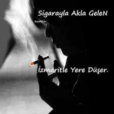 Sigara ve izmarit