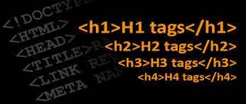 Site içinde H ve H1 kodları Nedir ?