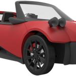 3d Yazıcı İle Yapılan Otomobil Satışa Sunuluyor