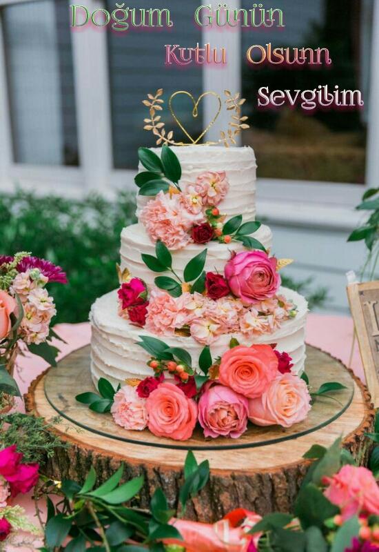 Sevgiliye Doğum günü pasta fikirleri