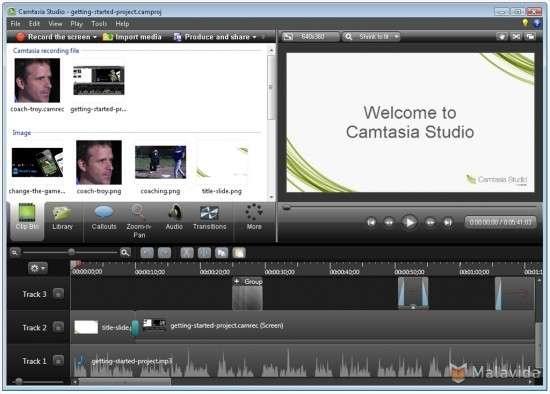Camtasia Studio Video Hızlandırma Yavaşlatma