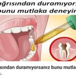 Diş Ağrısına Doğal Tedavi
