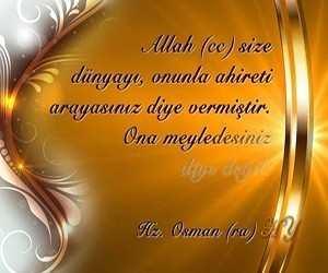Resimli Hz Osman Sözleri