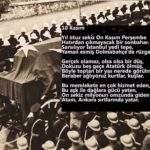 10 Kasım ile ilgili 2 kıtalık şiir