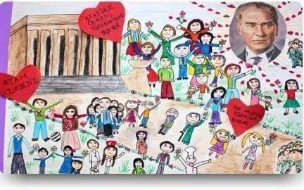 10 Kasım çizimleri öğrenciler Için Güzel Sözler