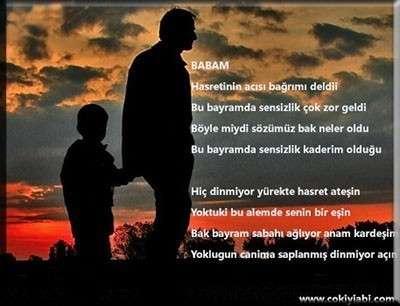 Baba'ya Özlem Şiiri