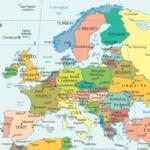 Avrupa Haritalarının Resimleri