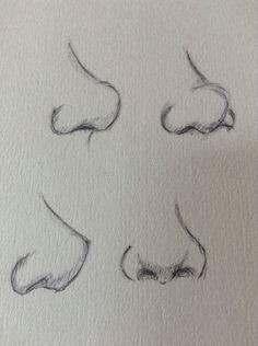 Burun çizimi Karakalem Güzel Sözler